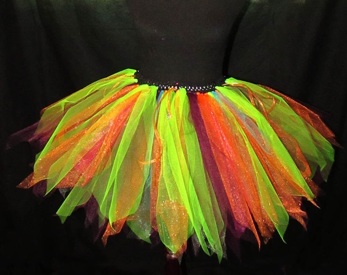 Full Figured Charmed Mix Tutu Skirt
