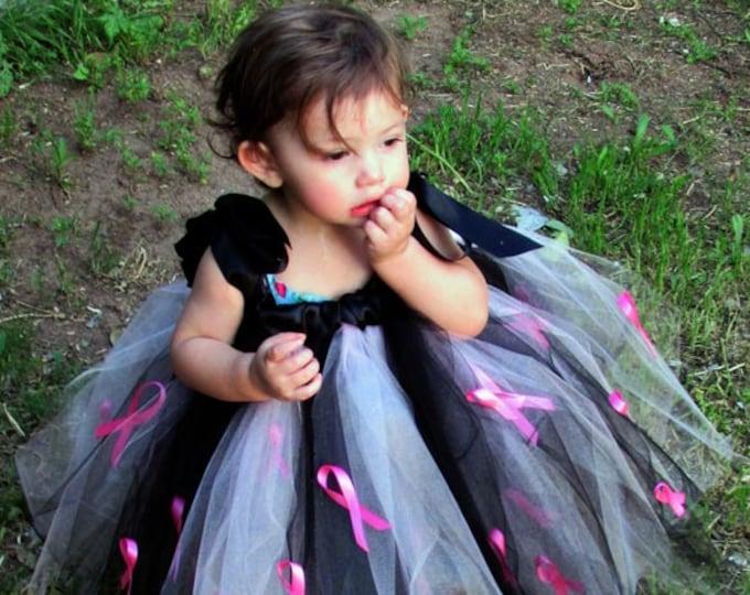 Breast Cancer Awareness Tutu Dress