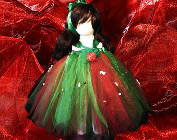 Merry Christmas Tutu Skirt or Dress