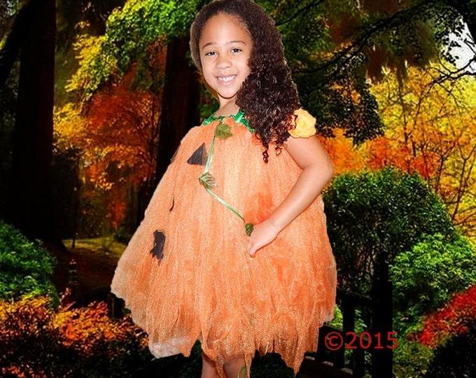 Halloween Pumpkin Tutu Dress