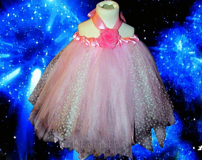 Baby's Breath Pink Specialty Sparkle Dress