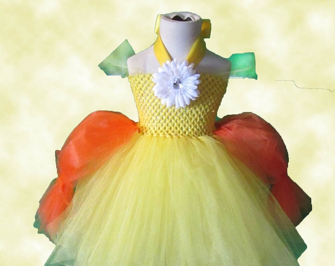 Women's Princess Daisy Inspired Tutu Dress
