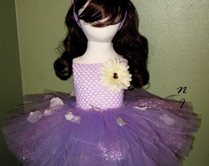 Rose Petals Tutu Dress
