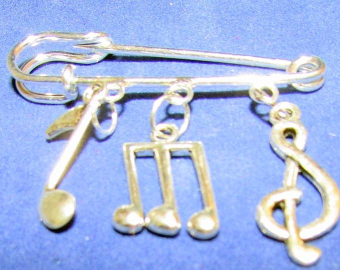 Music Pin/Brooch Jewelry