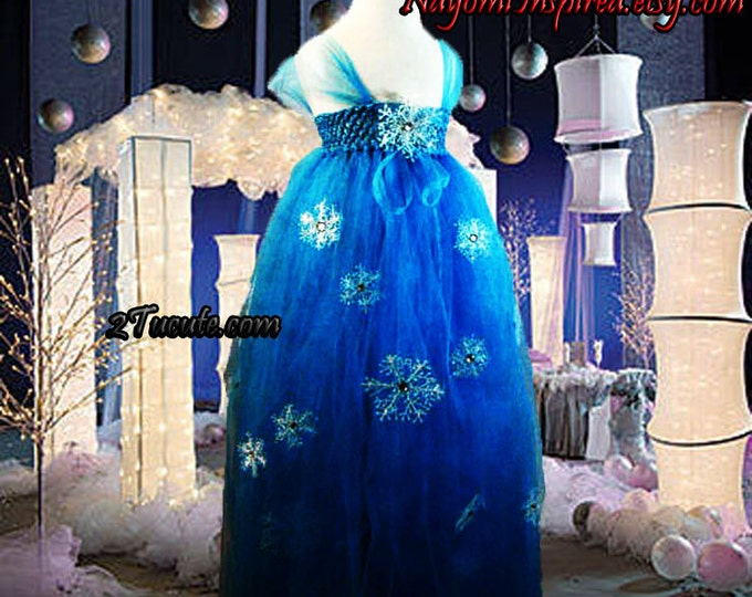 On Sale Now Disney's Frozen Inspired Tulle Dress