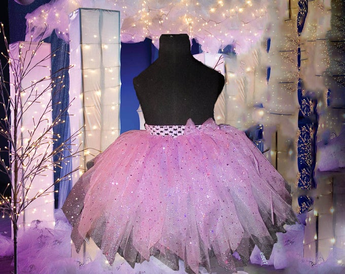 Ladies Couture Sparkling Tutu Skirt