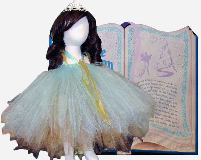 Princess Merida Themed Tutu Dress