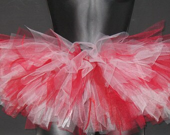 Adorable Red and White Tutu