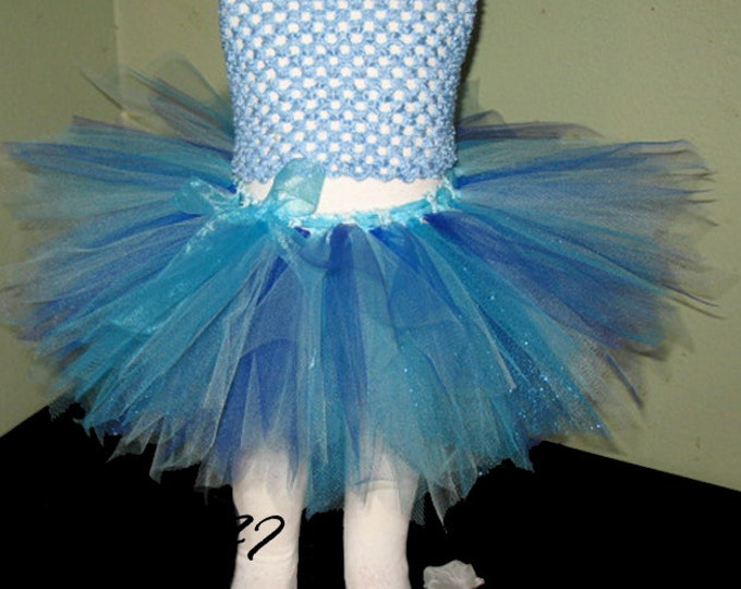 Shades of Blue Fairy Tutu
