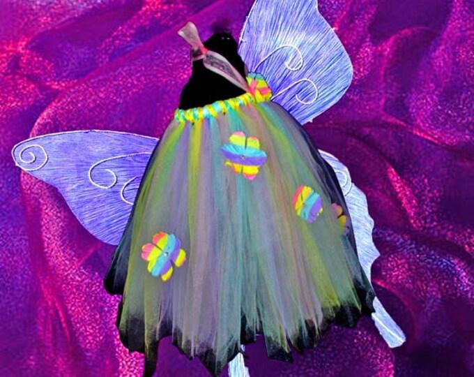 Pastel Flower Tutu Dress