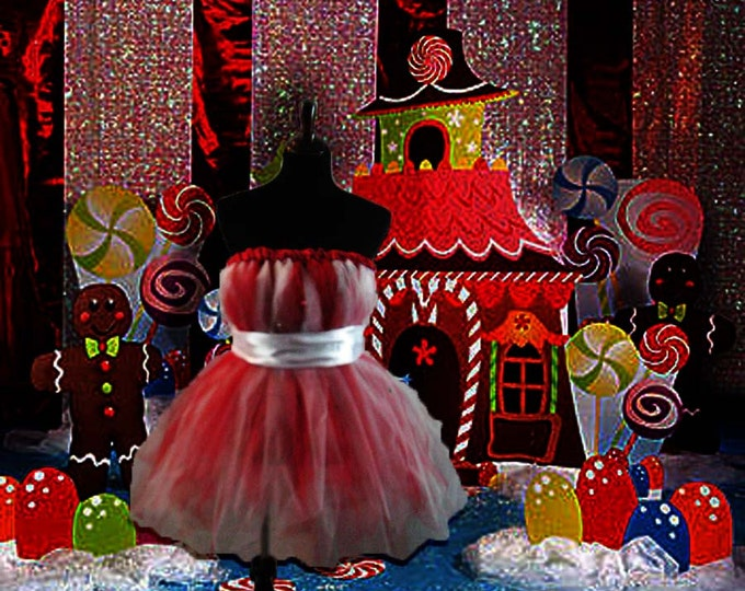 Full Figure Jingle All the Way Holiday Tutu