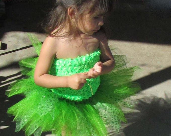 Luck of the Irish Specialty Green Tutu Skirt Great for marathons!