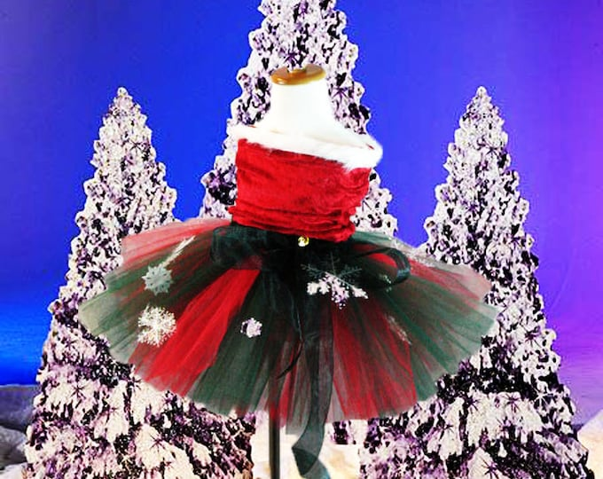 Let it Snow Holiday Tutu