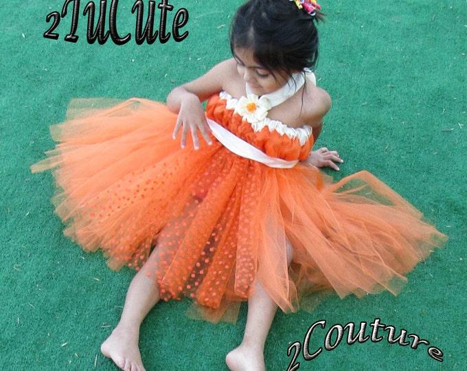 Orange Delight Dress