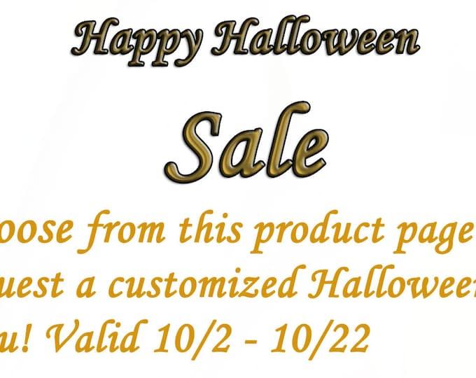 Halloween Themed Kiddos Tutu Sale