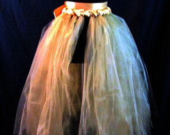 All that Gold Tulle Skirt