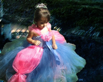 Enchanting Princess Tutu Dress *Pictured available to Ship Next Day!
