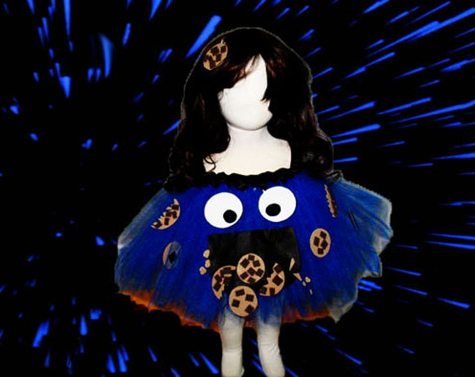 Cookie Monster Themed Tutu