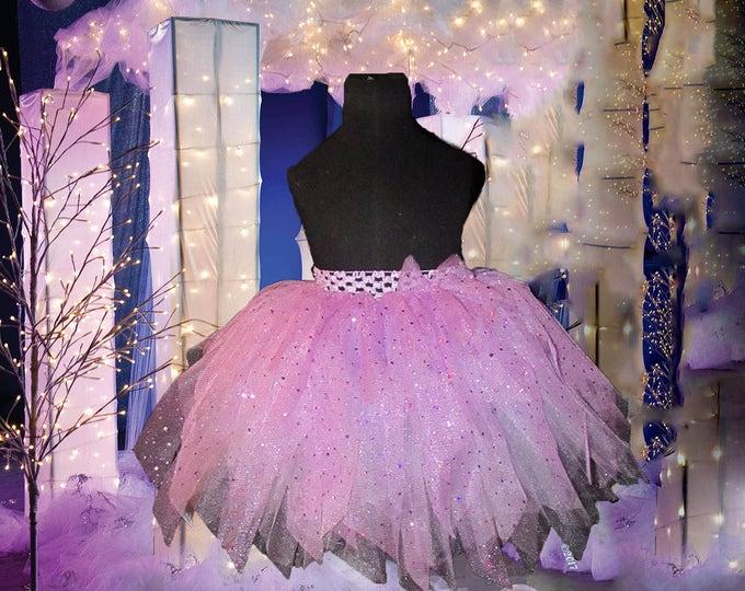 Ladies Couture Sparkling Tutu Skirt