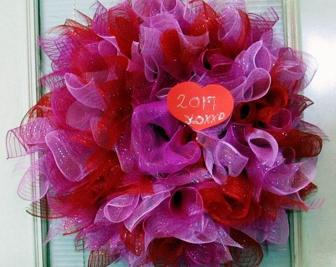 Happy Valentine Wreath