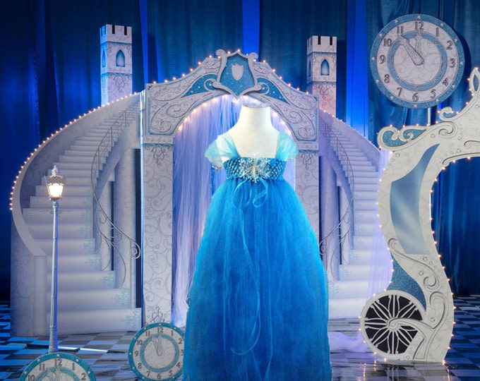 Enchanted Frozen Themed Tulle Dress