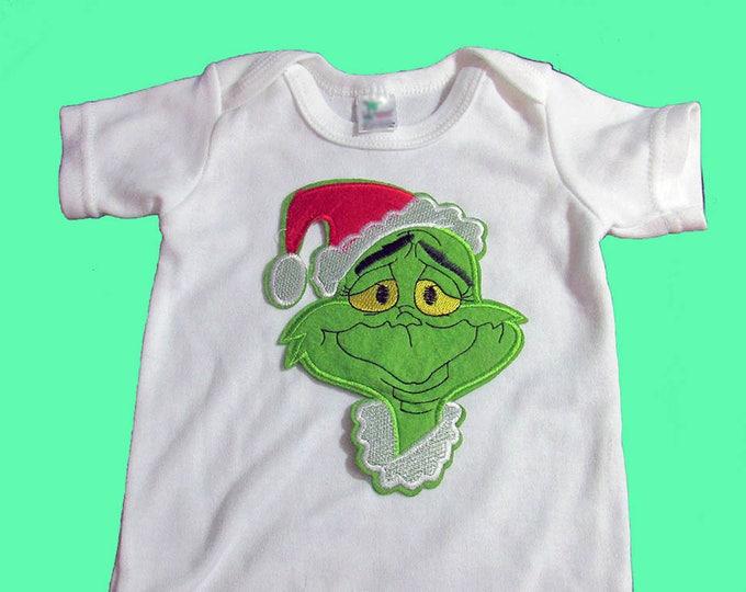 Fun Christmas Themed Bodysuit Onesie