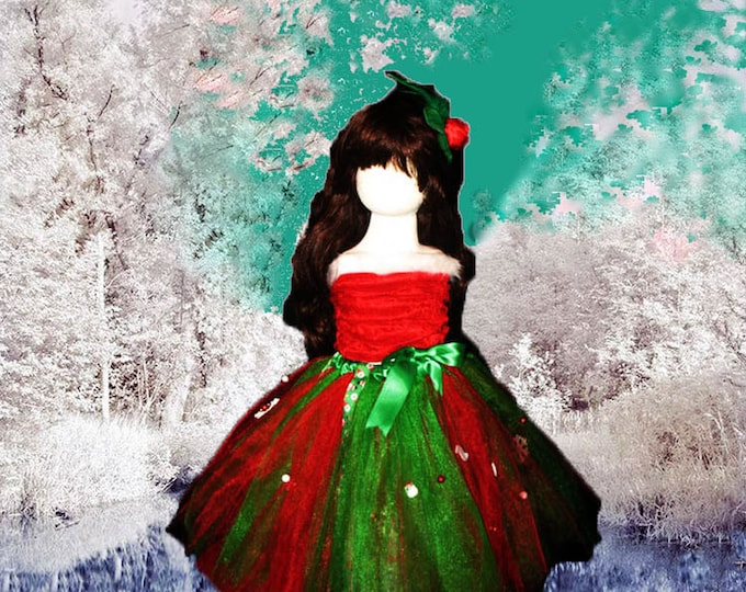 Extended Sizes Merry Christmas Tutu in July