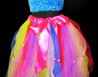 Fun and Festive Children's Beaded Tutu Skirt
