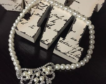 Pearl Crown Necklace Toddler