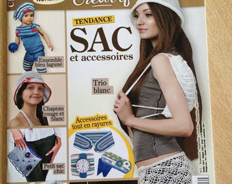 CLEARANCE - Trendy bag - Crochet Magazine and accessories