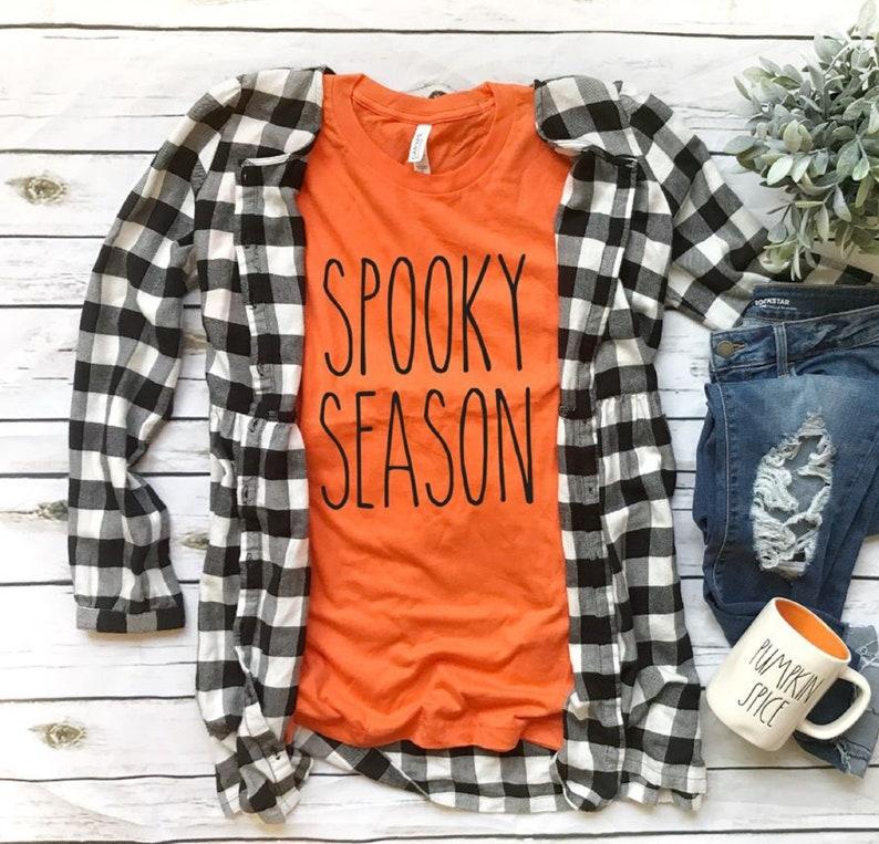Funny Halloween Shirt Womens Halloween Shirt Spooky Season Spooky Shirt Halloween Shirt Fall Shirt Womens Fall Shirt Cute Fall Shirt