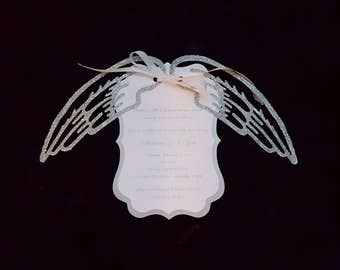 Heaven Sent (Angel Themed Invitation)