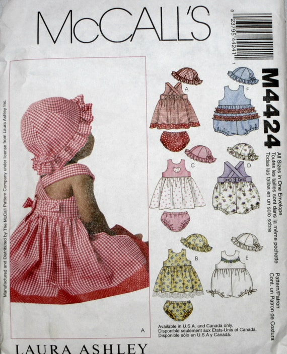 Infant\'s Dress Sewing Pattern Infant\'s Romper Sewing | Etsy