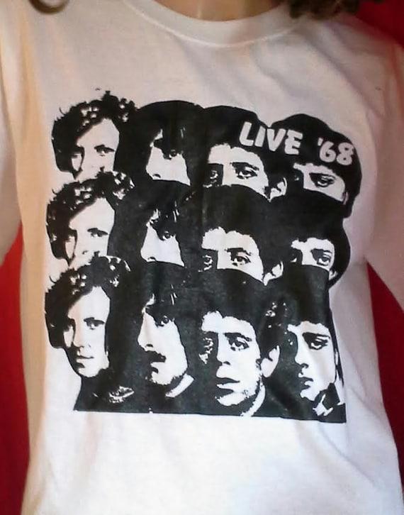 VELVET UNDERGROUND Live '68 shirt Lou Reed tee John Cale 60s Sonic Youth  punk hippie heroin t-shirt retro 70s NYC new york Pere Ubu No Wave