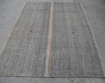 """Kilim rug, Vintage Turkish kilim rug, 94"""" x 64"""", area rug, kilim rug, Pastel area rug, vintage rug, bohemian rug, rugs,pastel kilim rug"""