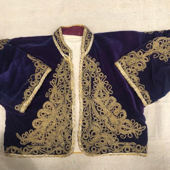 Ottoman velvet jacket , woman wear, ottoman , velv