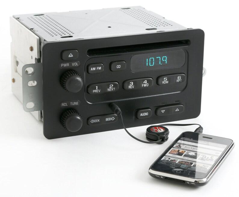 2000 To 2005 Chevy Am Fm Cd Player W Aux Input Radio Delco Etsyrhetsy: 2005 Impala Radio Aux Input At Gmaili.net
