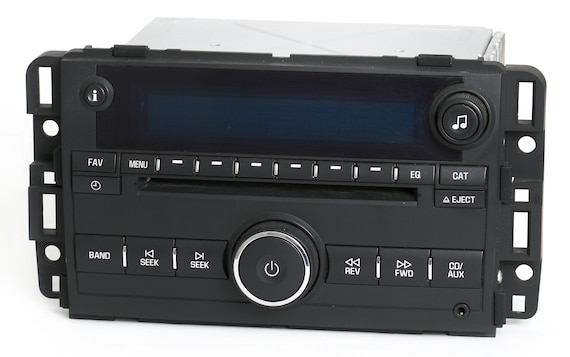 2006 Buick Lucerne Am Fm Single Disc Aux Radio With Bluetooth Music Upgrade Part Number 15871700