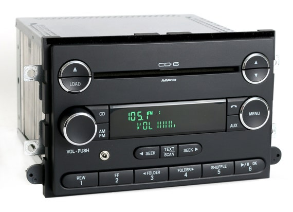 Ford Mercury 2006 To 2009 Am Fm 6 Disc Mp3 Cd Radio Modified W Auxiliary Input Remanufactured And Upgraded 8e5t18c815af Fusion Milanrhetsy: Ford Fusion 2006 Radio Aux Input At Gmaili.net