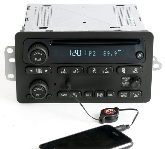 2000 To 2005 Chevy Car Am Fm Cd W Aux Input Radio Delco Part Etsyrhetsy: 2005 Impala Radio Aux Input At Gmaili.net