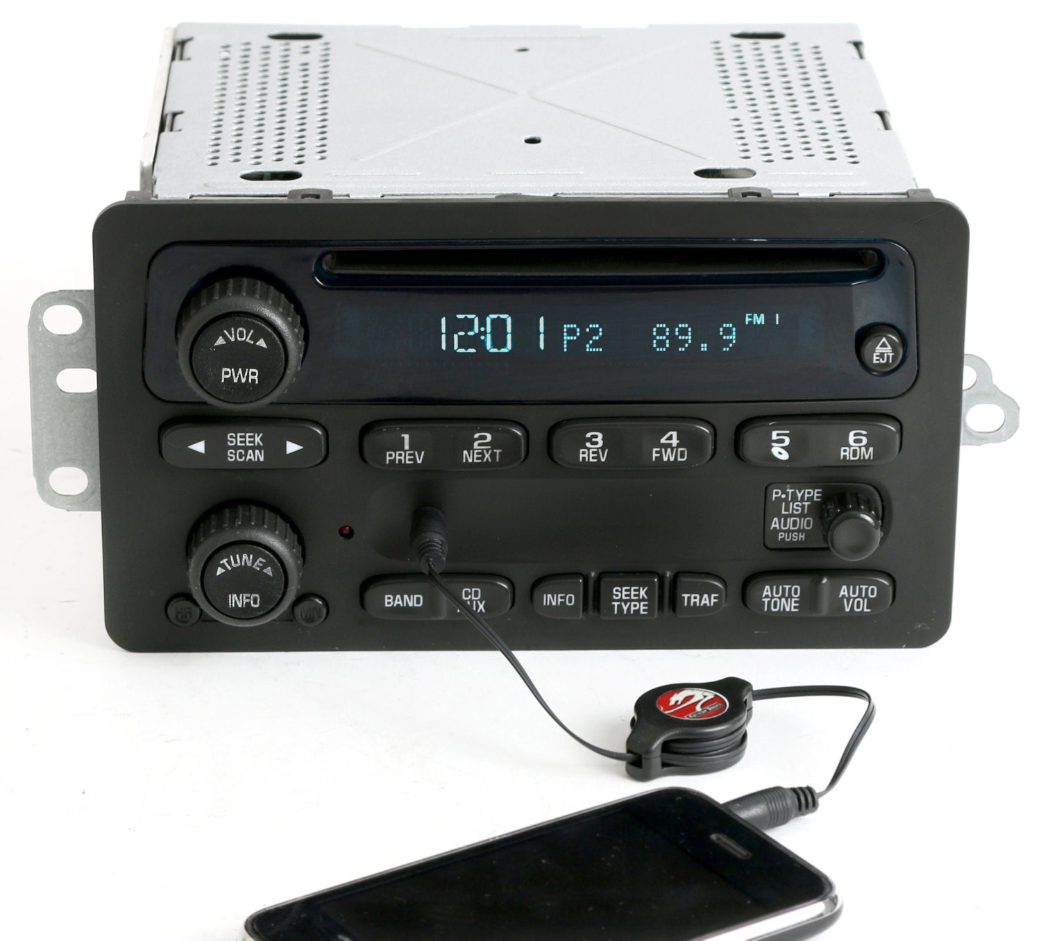 2000 to 2005 chevy car am fm cd w aux input radio delco. Black Bedroom Furniture Sets. Home Design Ideas