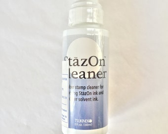 StazOn Cleaner, Rubber stamp cleaner, Stazon stamp cleaner, StazOn All Purpose Cleaner, stamp ink cleaner, Stazon All Purpose Stamp Cleaner