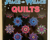 Magic Stack-n-Whack Quilts by Bethany S. Reynoldst, How to Book for Stack-n-Whack Quilts, Quilt Book, Quiltsy Destash Party