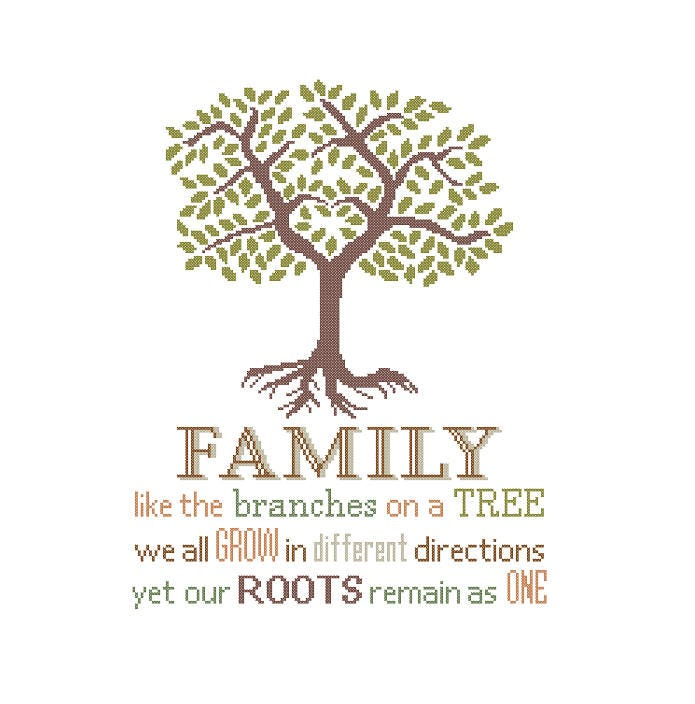 Family Like The Branches On A Tree Grow Different Directions Etsy