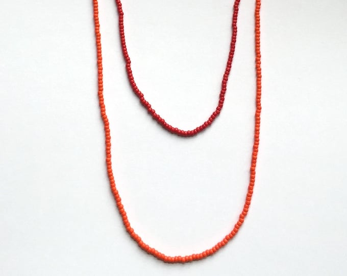 Orange Berry Necklace