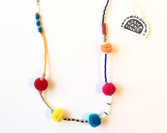 Morningside Pom Pom Necklace