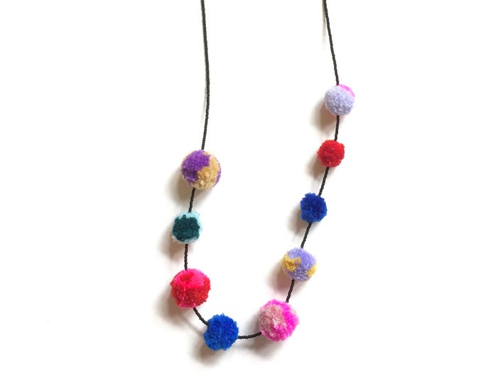 Summerland Pom Pom Necklace