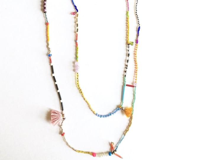 Bobbie Confetti Necklace