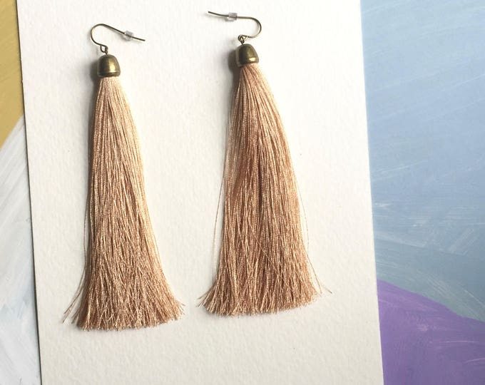 Woodland Tassel Earrings