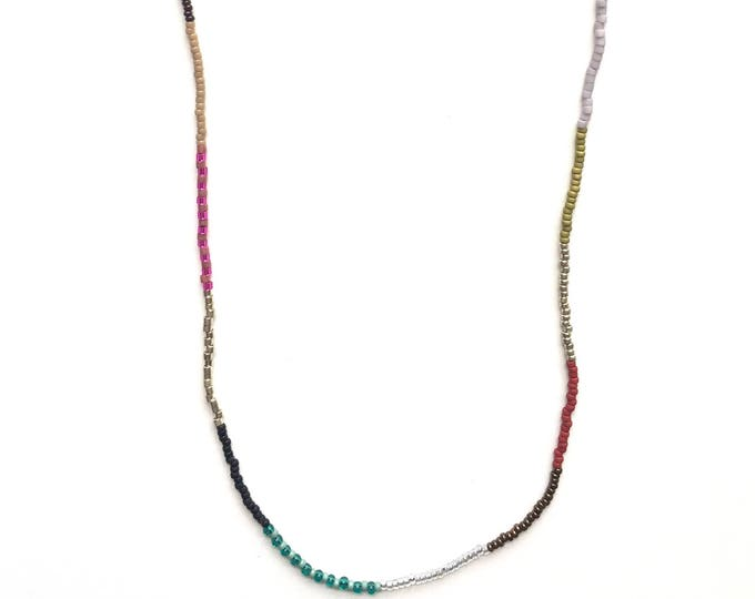 Paulie Seed Bead Necklace